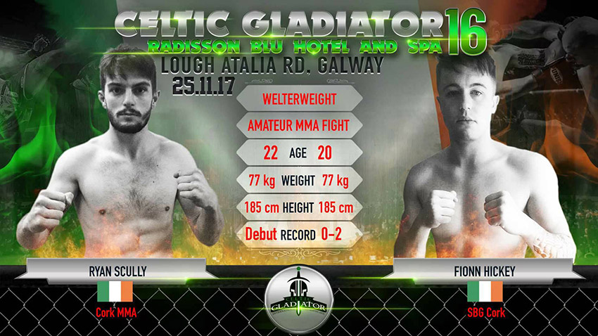 The Official Celtic Gladiator® Website - Ryan Scully Vs  Fionn Hickey